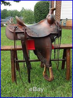 16 McCall Saddle used western saddle