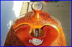 16 Original Billy Cook Show Saddle Made in Sulphur, OK, Gorgeous