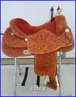16 Original Billy Cook Western Saddle Made in Sulphur, OK, Trail