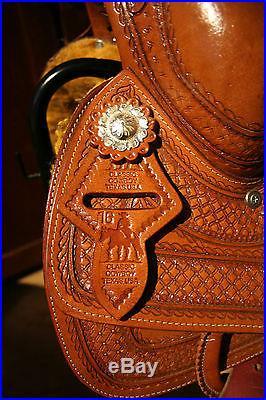 16 Reining Saddle Classic Cowboy Texas