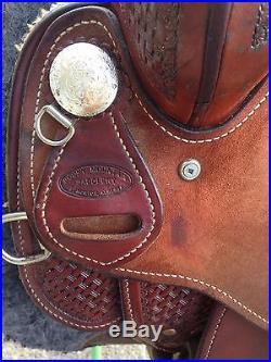 16 Rocky Mountain Saddlery Penning, Trail, PleasurSorting, Ranch Cutting Saddle