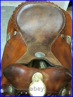 16 Saddle Smith NHRA Alain Allard Reiner western saddle