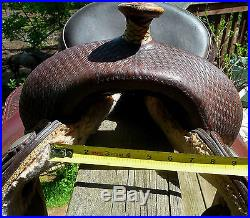16 Seat Reining Saddle Bighorn #850 by American Saddlery maker of Crates NO RES