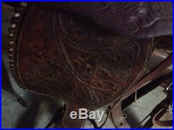 16 Show Saddle ShowithTraining/Trail/Pleasure/Western/Parade/Roping/Ranch