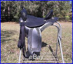 16 Specialized Trail Light endurance western saddle withwide tree & adjust panels