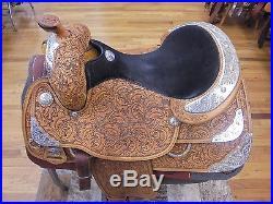 16 Tex-tan Imperial Brand Aqha Western Show Saddle