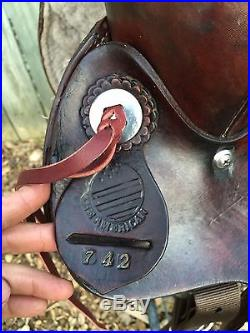 16 The American Roping Saddle Ranch / Training / Trail / Pleasure