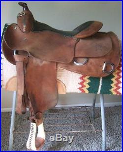 16 Western Saddlery Wenger Rough Out Training Saddle Western Pleasure Trail