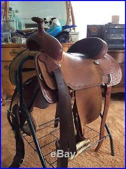 16 inch Teskey ranch/working saddle