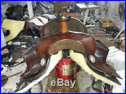 16'' western saddle Double tt Pleasure Style Saddle