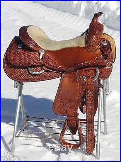 17 BILLY COOK Classic Reiner Western Horse Reining Saddle