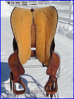 17 BILLY COOK Classic Reiner Western Horse Reining Saddle Comfortable