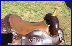 17 Bob Marshall Cutting Saddle Western Tack