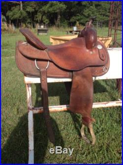 17 Circle Y Cutting Saddle