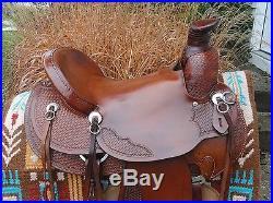 17 DAKOTA Saddlery Wade Tree Western Ranch Roping Saddle