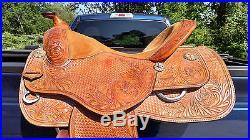 17 Dale Chavez West Coast Reining Saddle