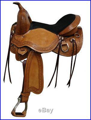 17 Double T Treeless Saddle Western Horse