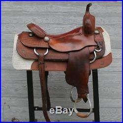 17 Sean Ryon Cutting Saddle