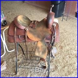 17 inch Sean Ryon cutting saddle