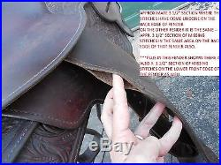 1990s Used Circle Y Park And Trail 15 Silver Western Saddle Show Pleasure etc