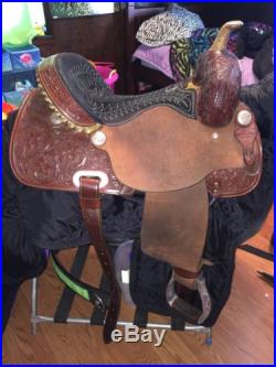 2012 Billy Cook Barrel Saddle