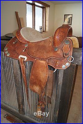 Ammerman Barrel Saddle