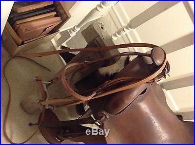Antique Child's Pony Saddle