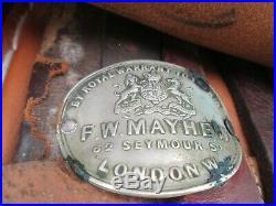 Antique Side Saddle-restored-F. W. Mayhew, London-21 seat