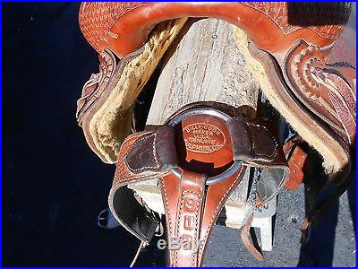 BILLY COOK ROPING RANCH SADDLE 15.5 INCH