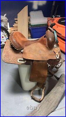 Barrel saddle 14 RICO