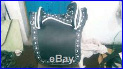Beautiful Antique Design Baroque Style genuine Leather Horse Saddles