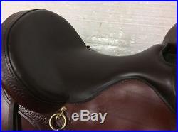 Big Horn Evolution Trail Saddle #1691 17 Used Medium Plus Quarter Horse Bars