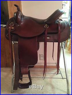 Big Horn Flex Trail Saddle 16