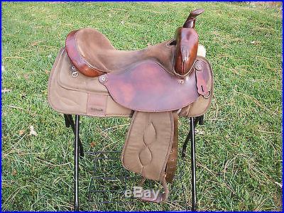 Big Horn Western Saddle