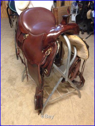 Big Horn Western Trail Saddle #1655 Equi-Fit Flex Tree 16