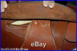 Billy Cook 16 Leather Roping Saddle EXCELLENT Condition