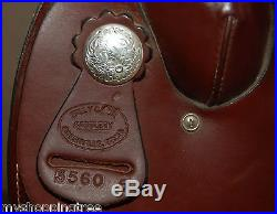 Billy Cook 16 Leather TRAIL Saddle EXCELLENT Condition
