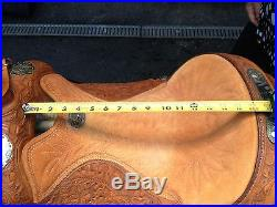 Billy Cook 16 Western Show Saddle