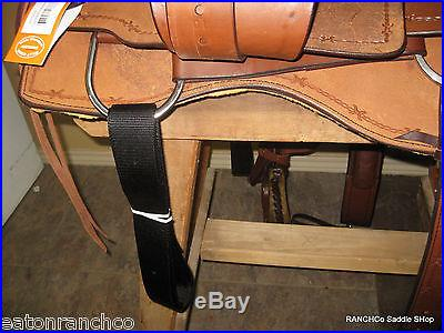 Billy Cook 17 Padded Seat Cutter Saddle Cutting Horse