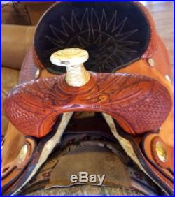 Billy Cook #279 Barrel saddle 15