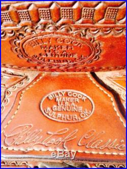 Billy Cook Arbuckle Wade Ranch Saddle 15.5 inch Seat
