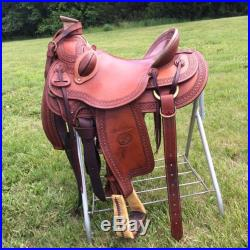 Billy Cook Arbuckle Wade Ranch Saddle 16 inch Seat