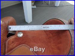 Billy Cook Barrel Saddle 14 Seat # 271