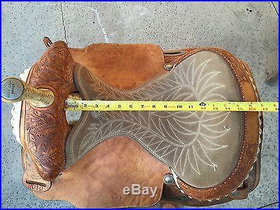 Billy Cook Barrel Saddle size 15