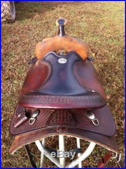 Billy Cook Halfbreed Cutter / Reiner Western Saddle 15.5-16 Inch Seat