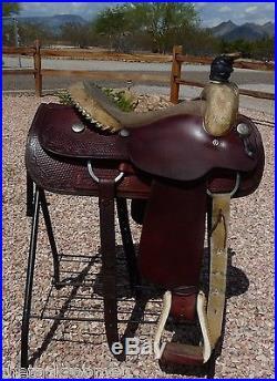 Billy Cook Longhorn Roping Saddle 15
