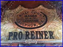 Billy Cook Pro Reiner 16