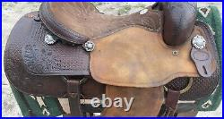 Billy Cook Roping Saddle 17in