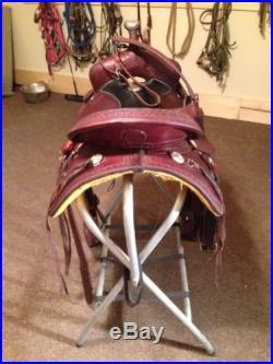 Billy Cook Trail Saddle 16, Genuine From Sulphur, Oklahoma