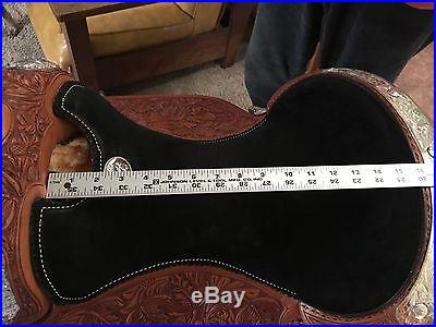 Billy Cook Western Pleasure 16 show saddle-medium oil, excellent condition